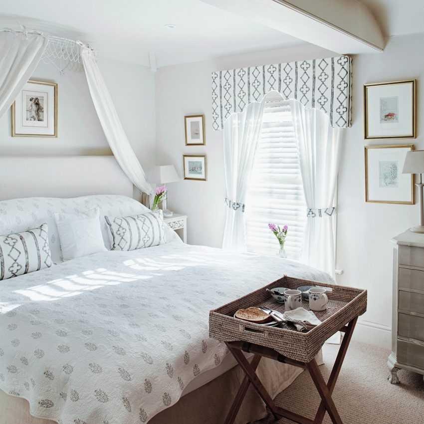 Короткие шторы в спальню — 145 фото новинок дизайна