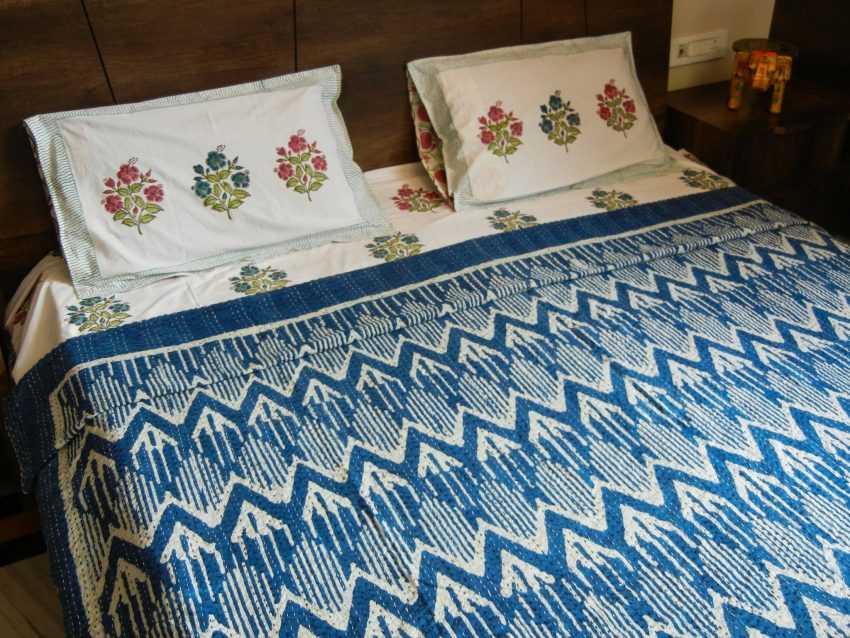 Покрывало на кровать в спальню в современном стиле: обзор новинок дизайна + фото