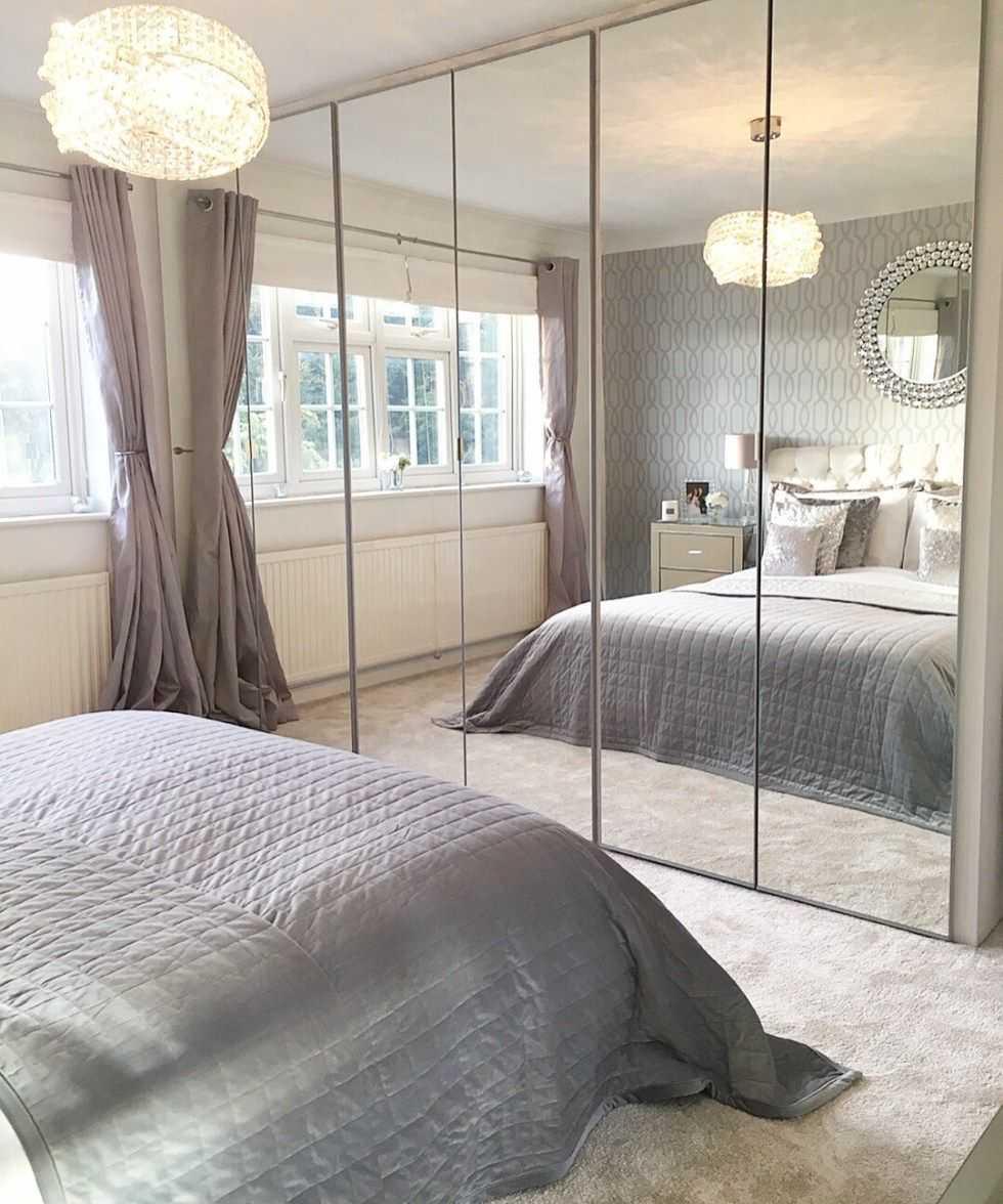 Шкаф с зеркалом в спальню: обзор современных моделей и новинок дизайна (200 фото)