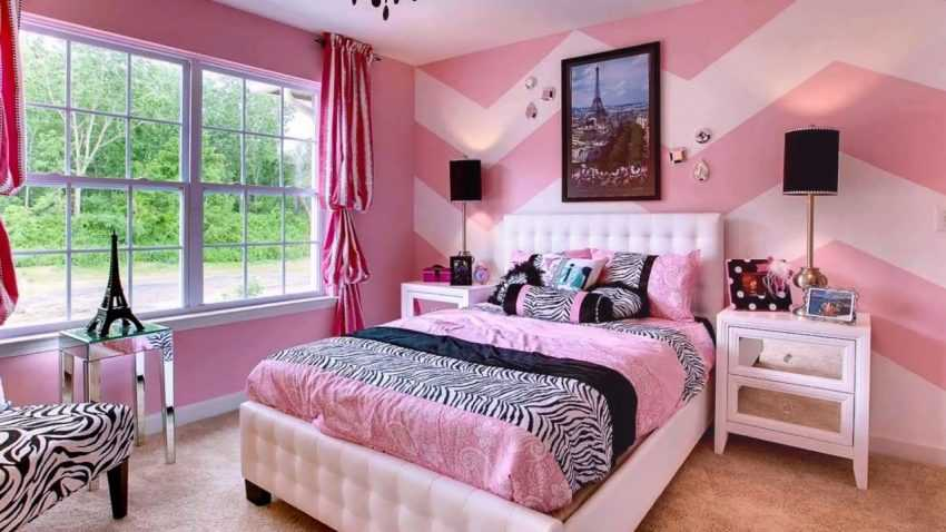 Спальня для девушки — 120 фото лучших вариантов современного дизайна