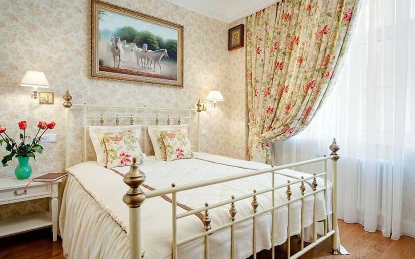 Спальня в стиле прованс: красивые варианты дизайна (120 фото новинок)