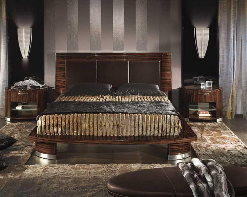 Спальня цвета Венге — 110 фото эксклюзивного дизайна. Каталог новинок 2020 года