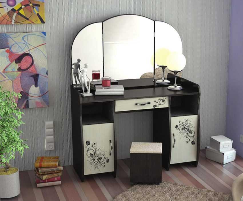 Трюмо в спальню — примеры красивого и современного дизайна (100 фото)