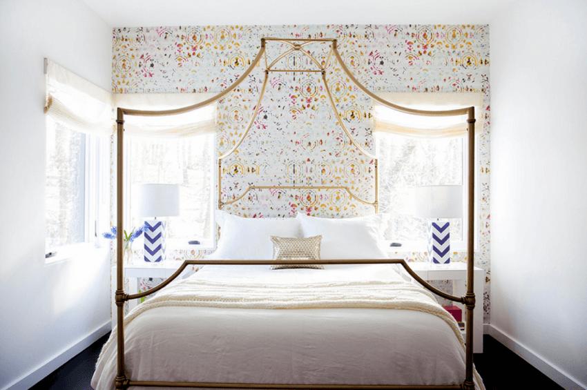 Дизайн обоев для спальни — 150 фото лучших новинок из каталога 2020 года