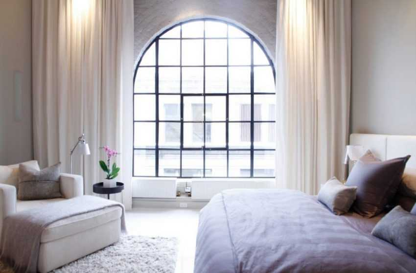 Дизайн окна в спальне: ТОП-200 фото эксклюзивных идей по оформлению