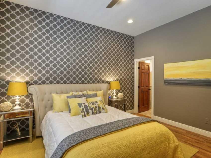 Дизайн стен в спальне — фото лучших идей красивой отделки с нестандартными оттенками