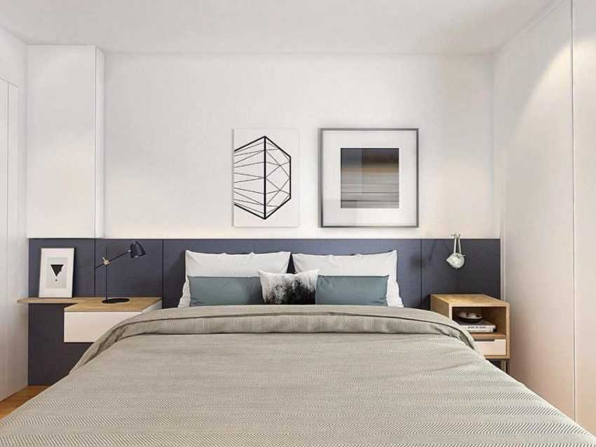Спальня в хрущевке — лучшие варианты дизайна в маленькой спальне (140 фото)