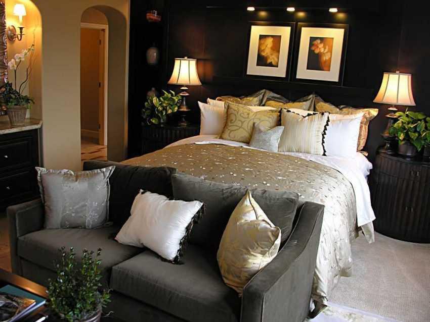 Стильная спальня — примеры современного дизайна. 200 фото лучших идей оформления и сочетания